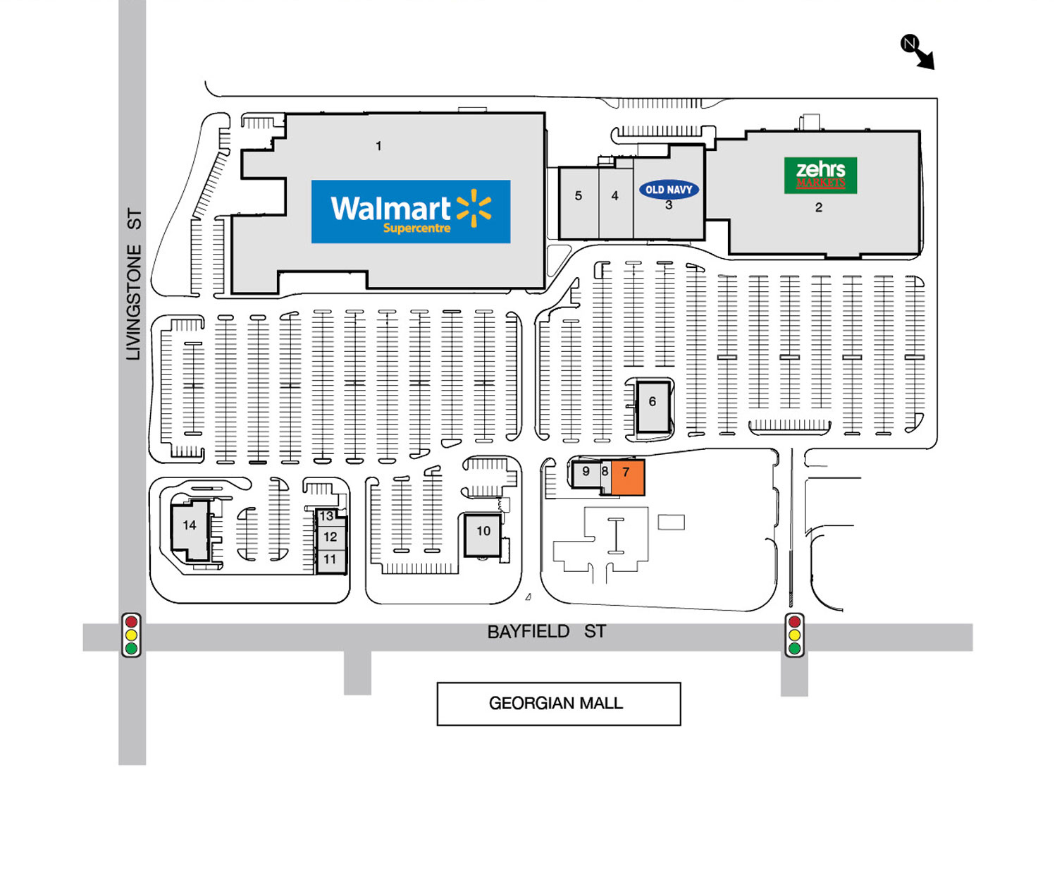 walmart facility layout Report: walmart in early stage of developing new store format—and that's not all   the layout is designed around a shop-in-shop concept that.